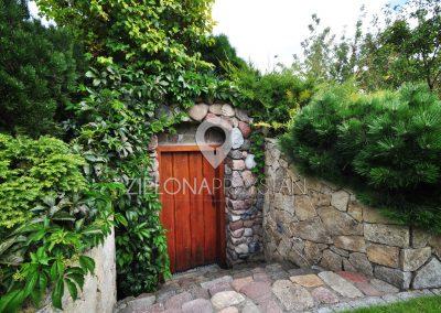 Ogród z piwniczką