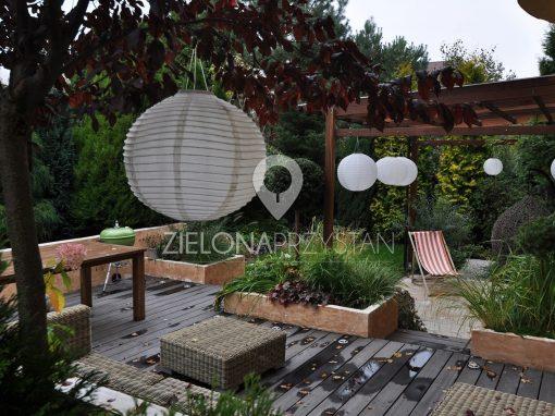 Ogród jak salon ogrodowy