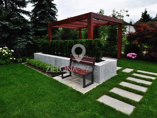 Ogród prostych kształtów